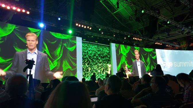 Stephen Kelly, CEO de Sage, en Sage Summit 2015