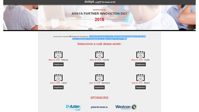 Avaya Partner Innvation Day