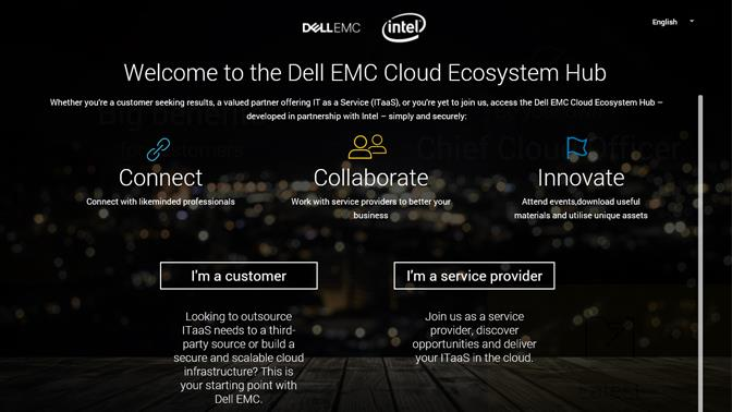 dell emc cloud ecosystem hub