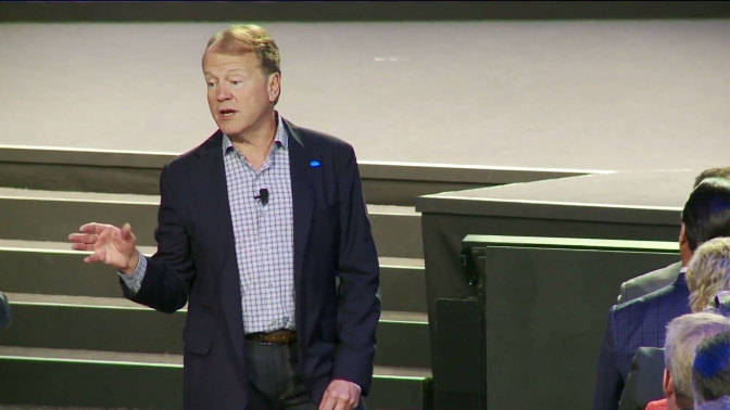 John Chambers, CEO de Cisco, en Partner Summit 2015 en Montreal
