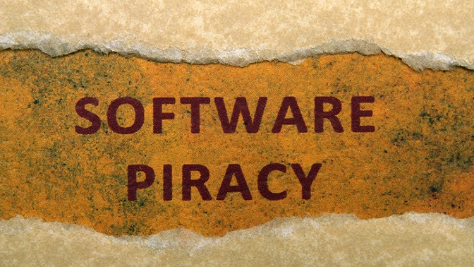 pirateria software