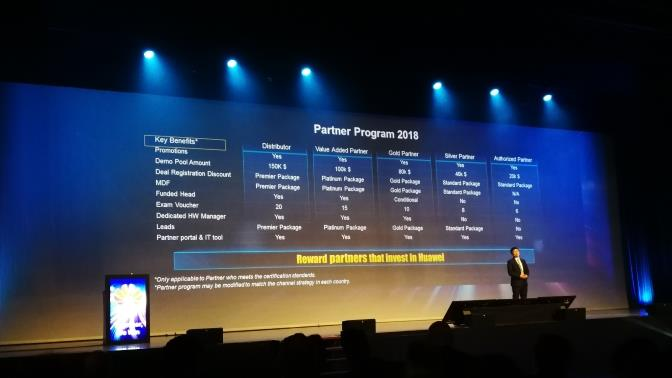 Huawei WE Partner Summit 2018