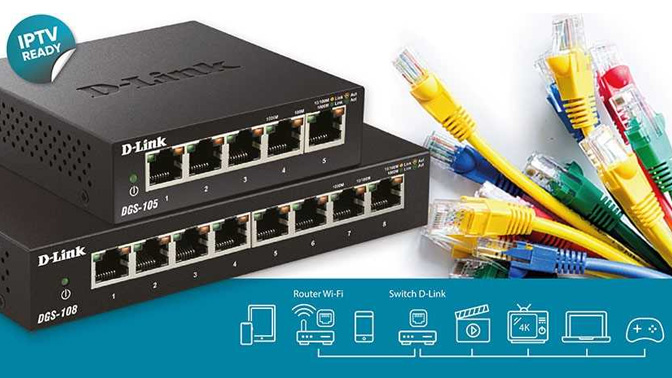 D-link switches IPTV
