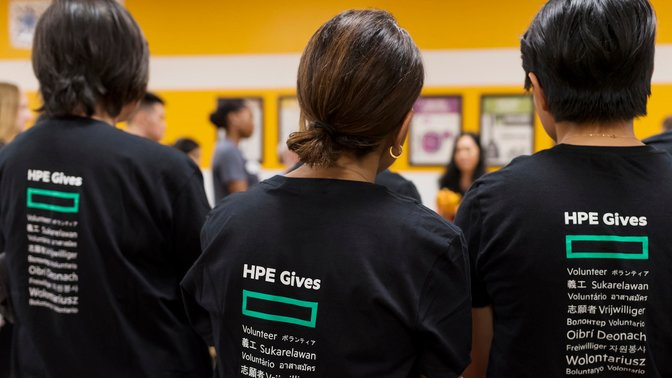 HPE global day of service