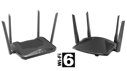 D-Link routers WiFi6